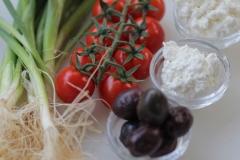 זיתים ועגבניות